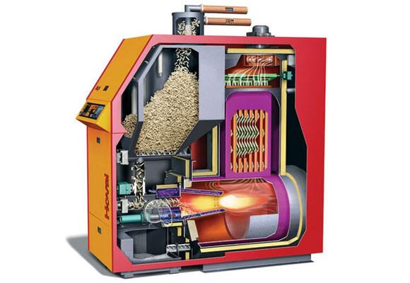 Calderas de pellets y hueso de aceituna - Se puede instalar una caldera de biomasa en un piso ...
